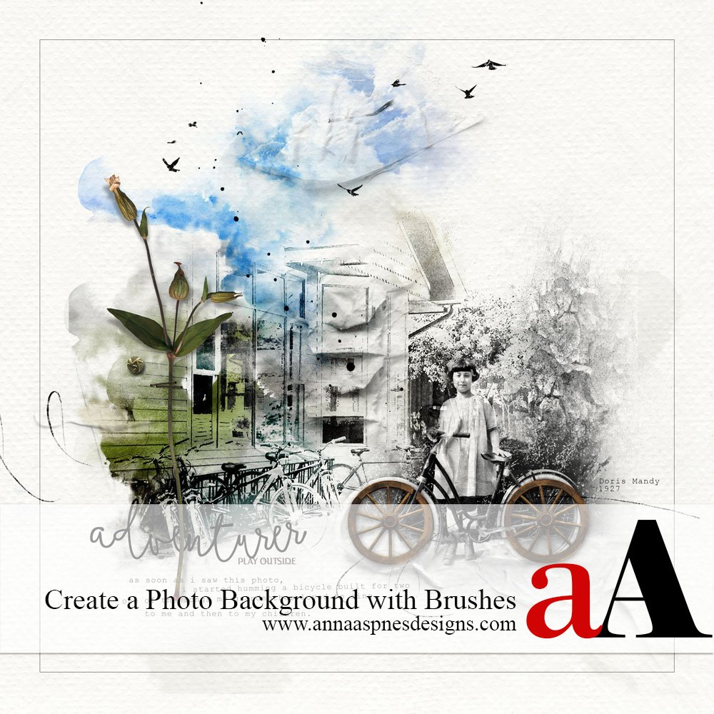 Tutorial | Create a Photo Background with Brushes