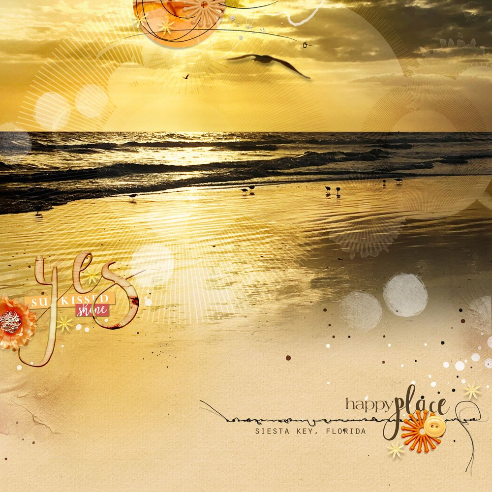 Digital Designs Inspiration Sunkissed