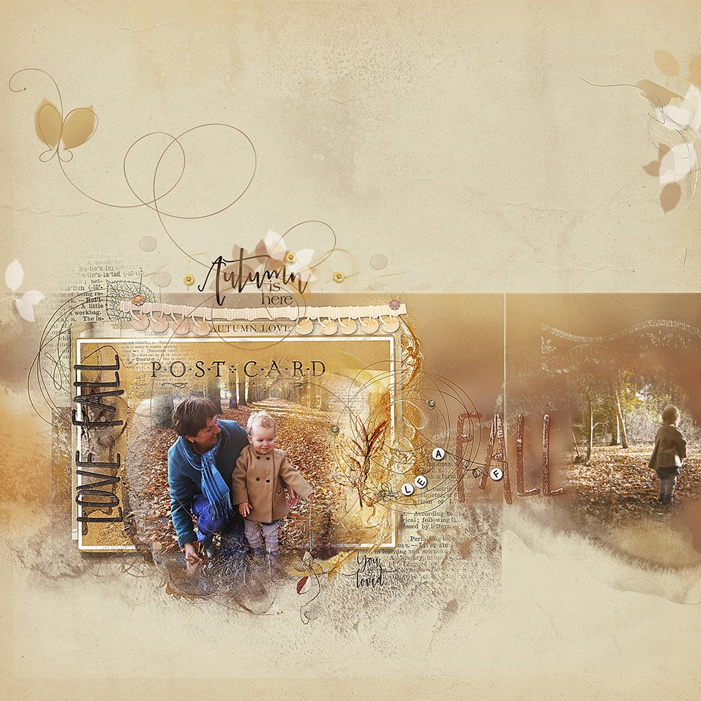 Digital Designs Inspiration Autumn Romance