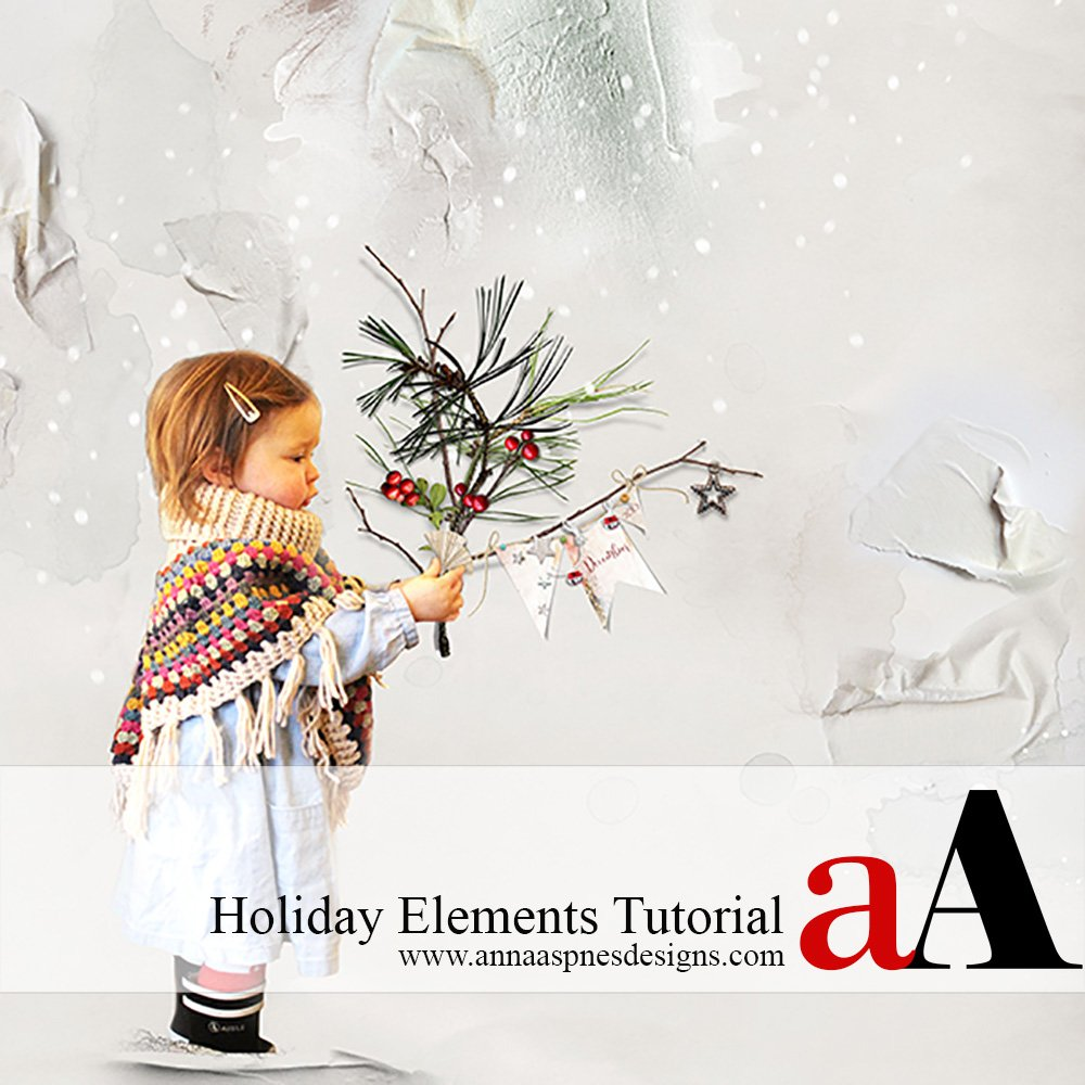 Holiday Elements Tutorial + Coupon