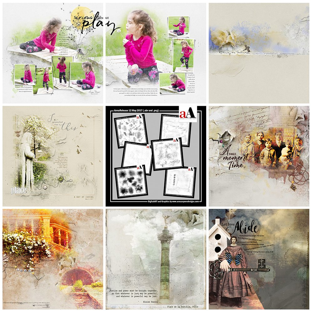 Digital Designs Inspiration BrushSets Bundle