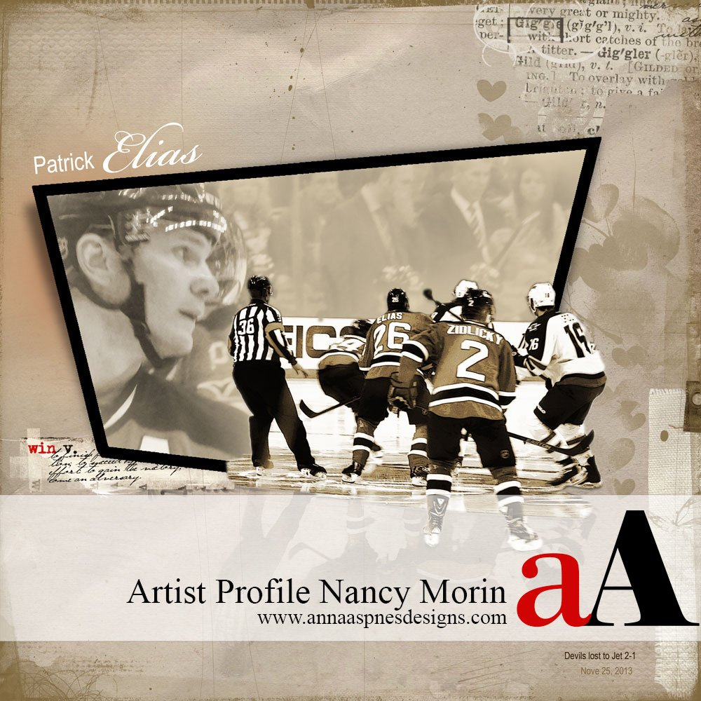 Q & A Artist Profile Nancy Morin