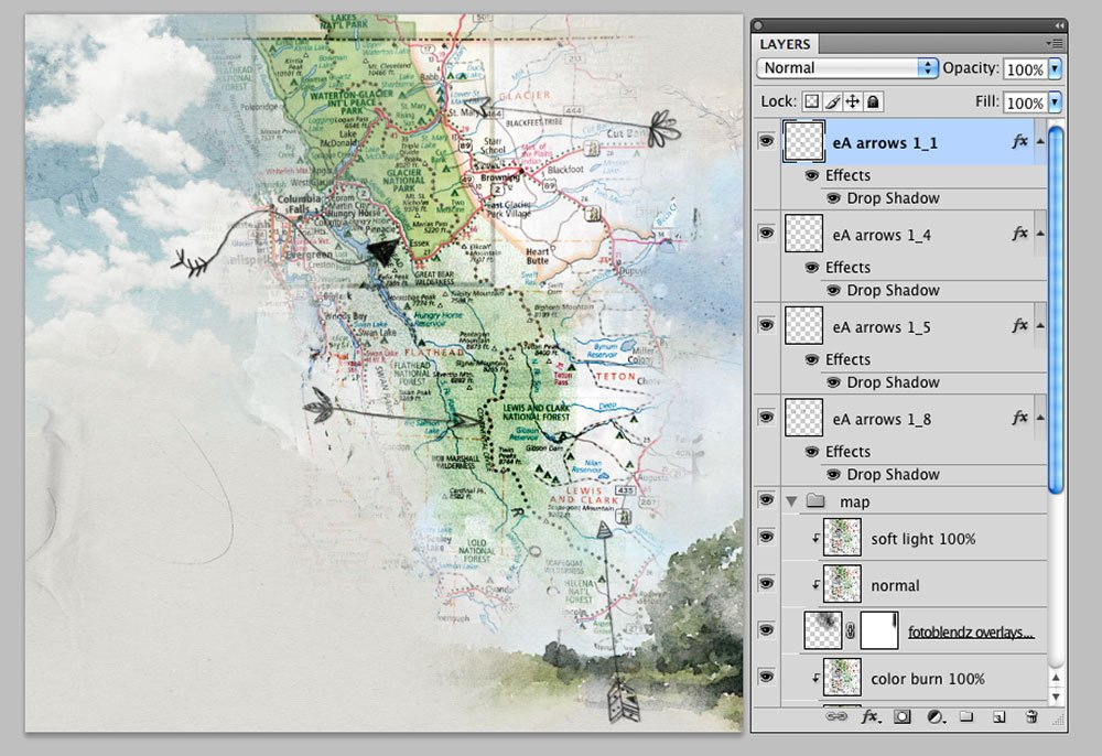 Create an Artsy Adventure Map