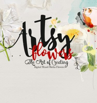 ArtsyFlowers Class is NOW On SALE
