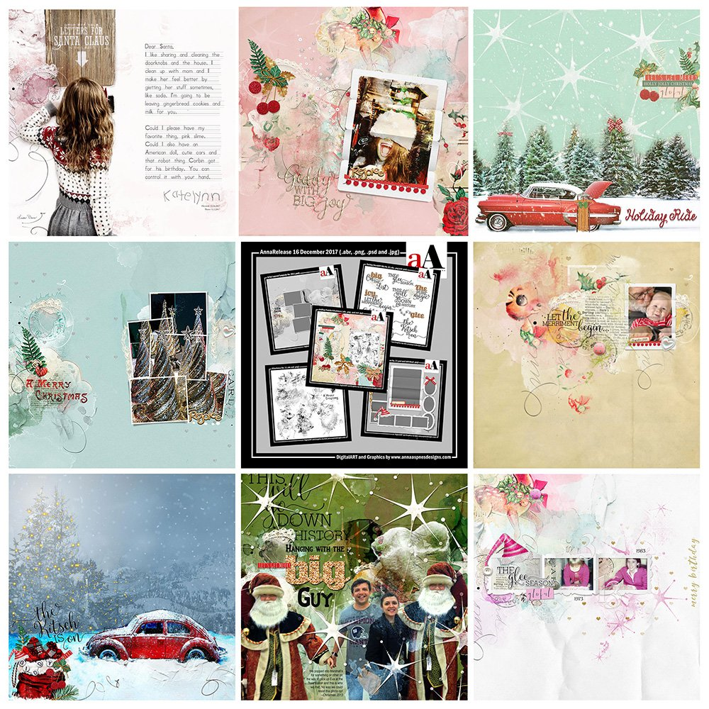 Digital Designs Inspiration Kitschmas
