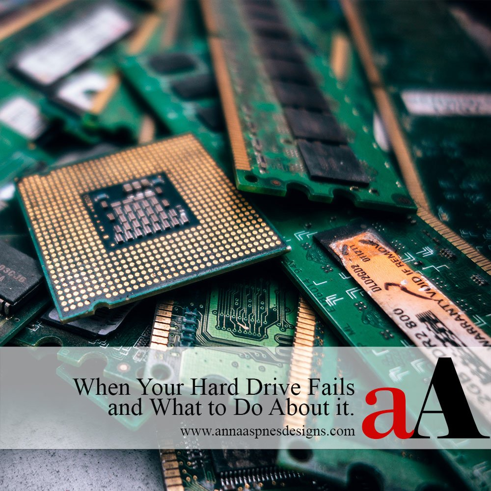 how to make a hard drive fail