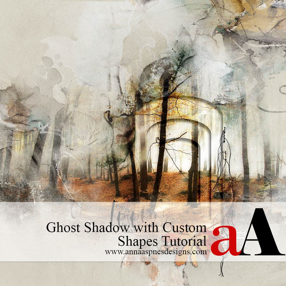 Ghost Shadow with Custom Shapes Tutorial